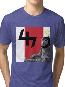 Capital Steez Smoking weed Tri-blend T-Shirt