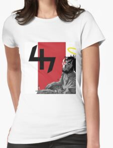 Capital Steez Smoking weed Womens Fitted T-Shirt
