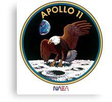 APOLLO 11 - ARMSTRONG-ALDRIN-COLLINS Canvas Print