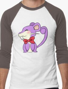 Rattata Men's Baseball ¾ T-Shirt