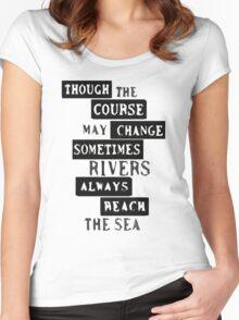 Ten Years Gone - Led Zeppelin Women's Fitted Scoop T-Shirt