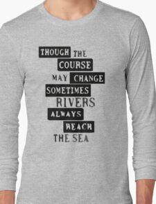 Ten Years Gone - Led Zeppelin Long Sleeve T-Shirt