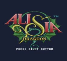 Alisia Dragoon (Genesis) Title Screen by AvalancheJared
