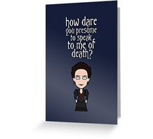 Vanessa Ives (card) Greeting Card
