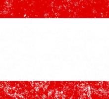 Distressed Austria Flag Sticker
