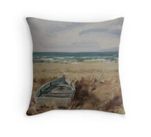 Lazy Dunes Throw Pillow