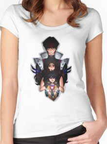 Undertale x Yugioh Women's Fitted Scoop T-Shirt