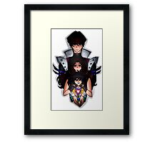 Undertale x Yugioh Framed Print