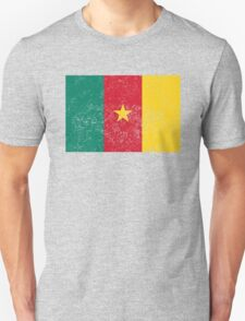 Distressed Cameroon Flag T-Shirt