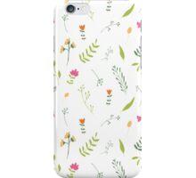 Rustic foliage iPhone Case/Skin