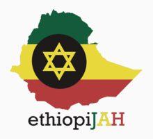 ethiopiJAH BLK Kids Clothes
