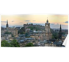 Edinburgh Castle from Calton Hill Poster