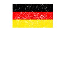 Distressed Germany Flag Photographic Print