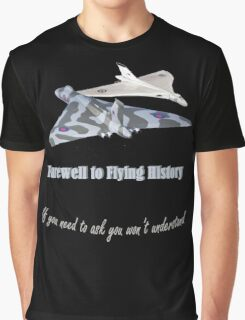 Last Vulcan Bomber to Fly 2015 Graphic T-Shirt