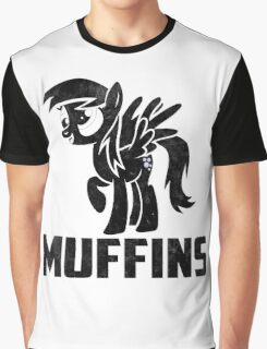 Derpy Hooves - Muffins Graphic T-Shirt