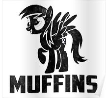 Derpy Hooves - Muffins Poster