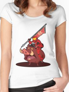 Warthog Women's Fitted Scoop T-Shirt