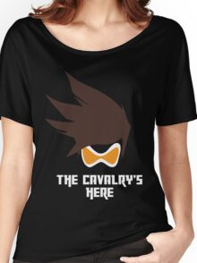The Cavalry's Here - Dark Women's Relaxed Fit T-Shirt