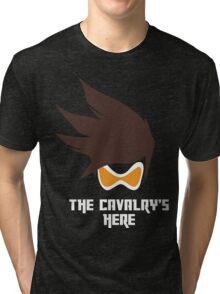 The Cavalry's Here - Dark Tri-blend T-Shirt