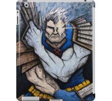Cable of the New Mutants iPad Case/Skin