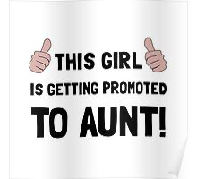 Promoted To Aunt Poster