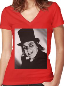 London After Midnight Women's Fitted V-Neck T-Shirt