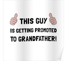 Promoted To Grandfather Poster