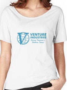 Venture Industries - Solving Tomorrow's Problems Women's Relaxed Fit T-Shirt
