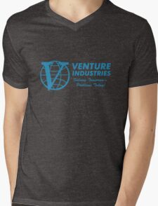 Venture Industries - Solving Tomorrow's Problems Mens V-Neck T-Shirt