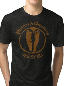 Plotters & Schemers Tri-blend T-Shirt