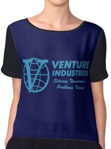 Venture Industries - Solving Tomorrow's Problems Chiffon Top