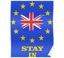 EU Stay In Poster
