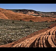 Landscape of Snow Canyon by NoblePhotosCard