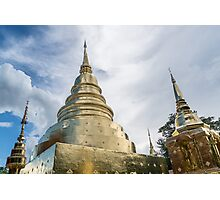Thai Temple - Wat Phra Kaew (วัดพระแก้ว) Photographic Print
