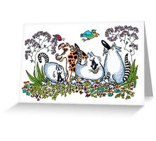 Looking for their Marbles Greeting Card