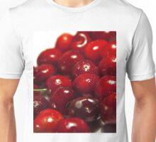 background of cherry fruit Unisex T-Shirt