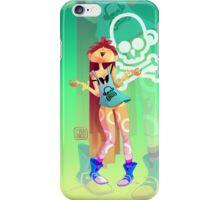 Rock girl iPhone Case/Skin