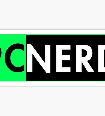 Pc Nerd Sticker
