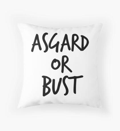 Asgard or Bust Throw Pillow
