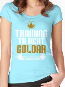Beat Goldar Women's Fitted Scoop T-Shirt