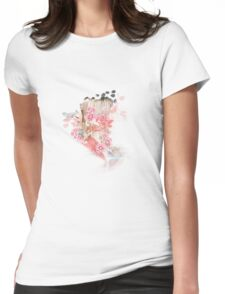 Flowers for the Soul Womens Fitted T-Shirt