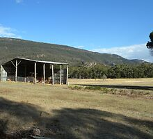 Laurie's Shed_Grampians_Victoria by Kay Cunningham