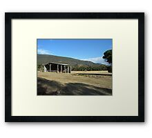 Laurie's Shed_Grampians_Victoria Framed Print