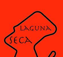 Laguna Seca Phone Case by mbswiatek