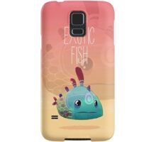 Exotic fish Samsung Galaxy Case/Skin