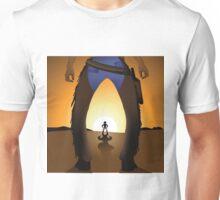 Cowboy showdown Unisex T-Shirt