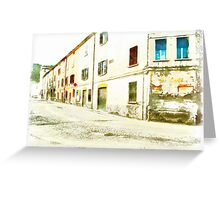 Fognano: convent Greeting Card