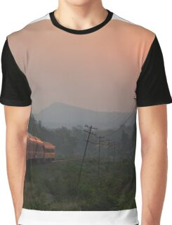 Train Graphic T-Shirt