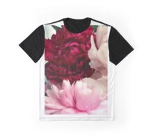 flowers peonies Graphic T-Shirt
