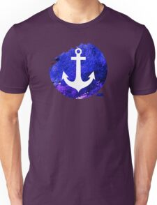 Anchor graphic centred Unisex T-Shirt